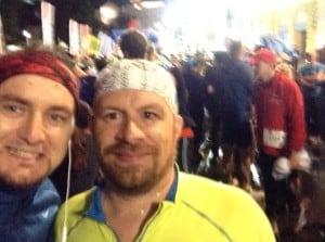 PreStart-Selfie mit Robert
