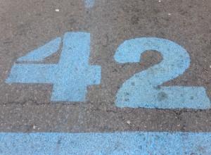 42, 195km nicht 41,195 :D