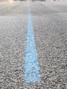 DIE blaue Linie
