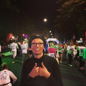 Vor dem Start des Vienna Night Run