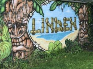 Graffiti auf meiner Laufroute durch Hannover