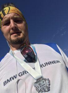 Medaille des Maraton Internacional Tangamanga