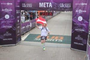 Zieleinlauf Tequila Medio Maratón