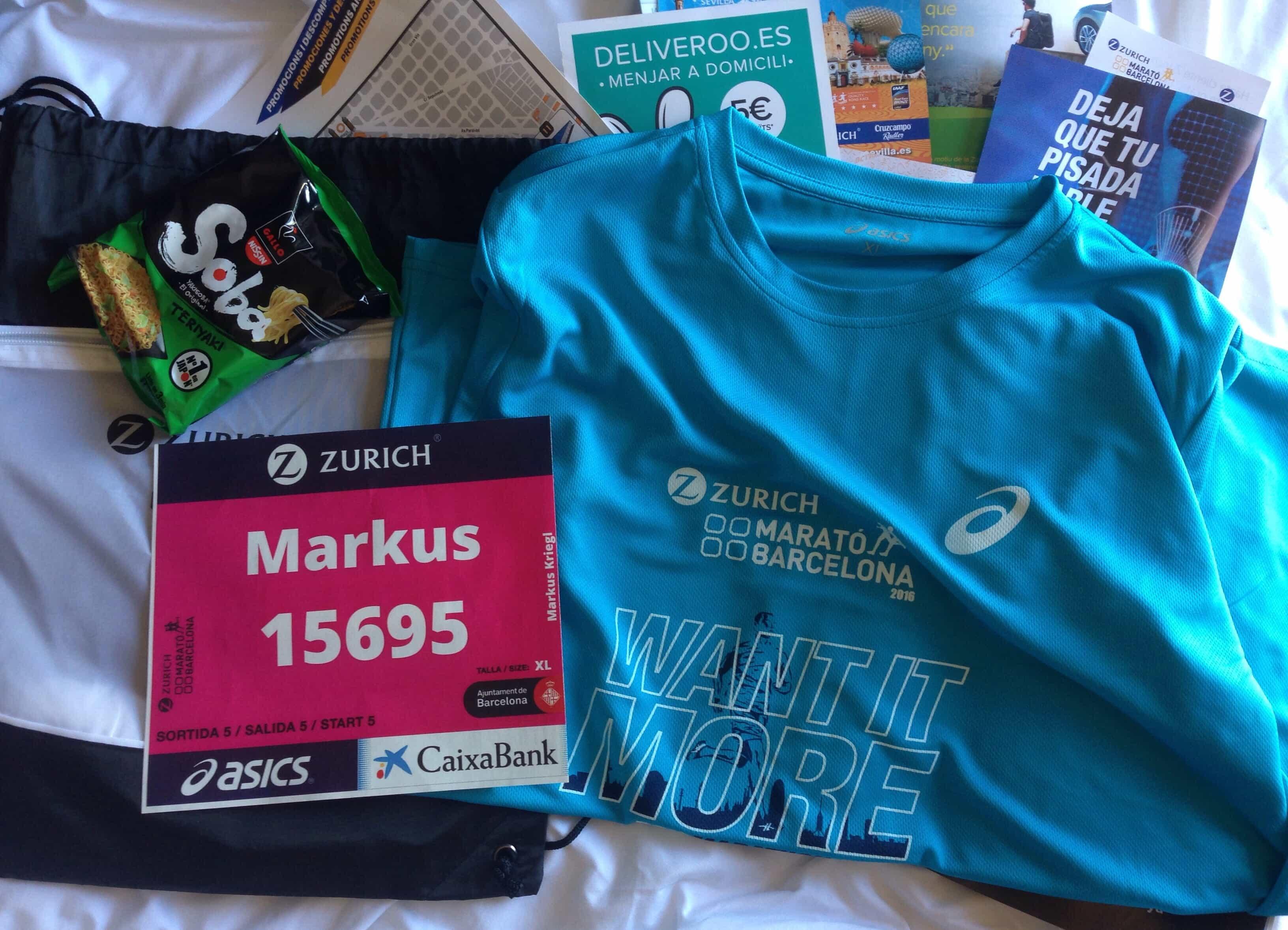 Mein erster Marathon – Barcelona 2016