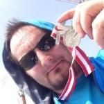 Medaille Halbmarathon Linz
