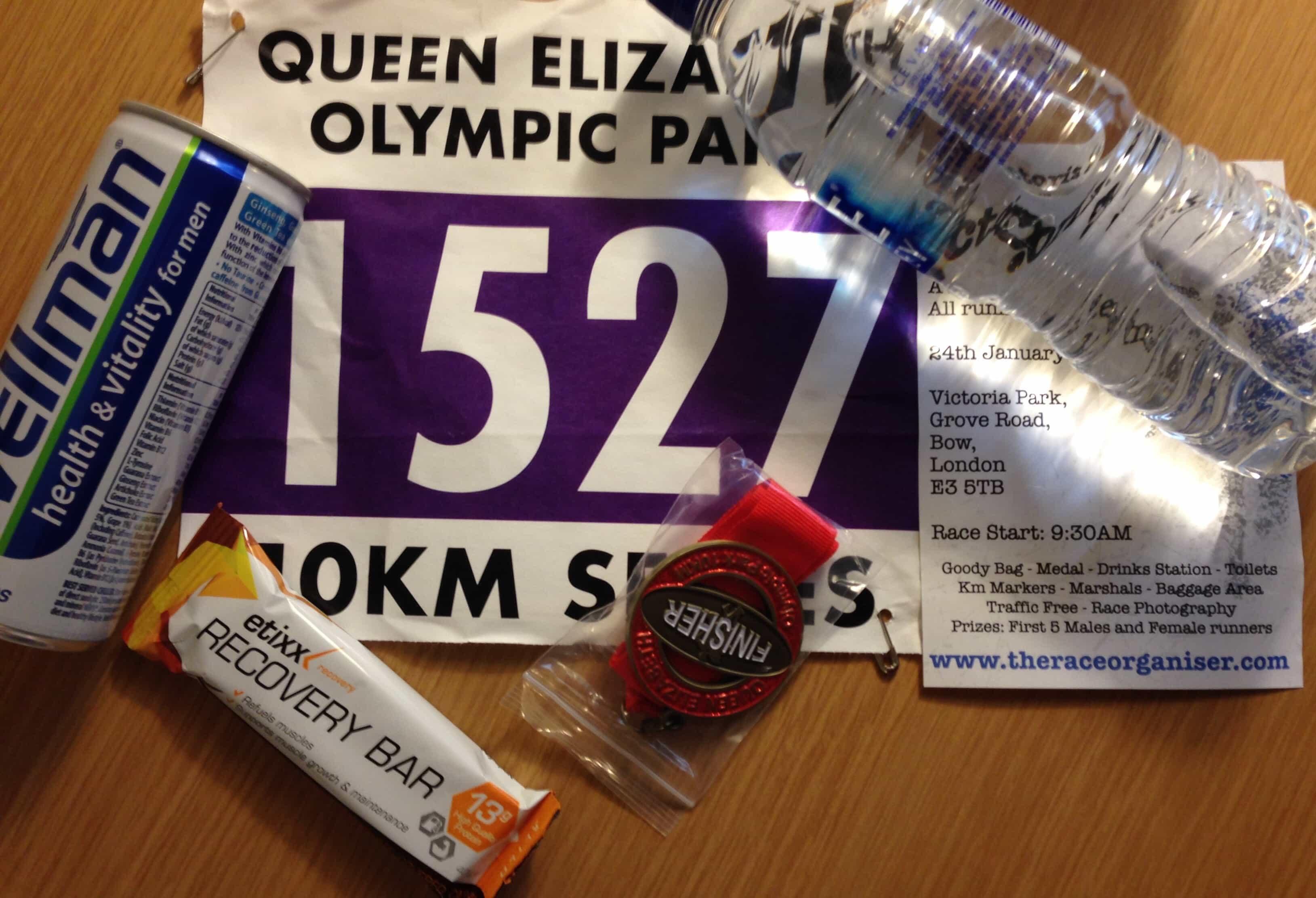 Queen Elizabeth Olympic Park 10k