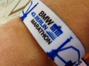 Starterarmband Berlin Marathon