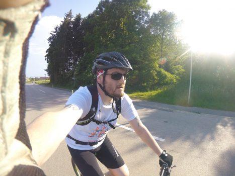 Mit dem Mountainbike von Steyr nach Linz – Überleben ist alles!