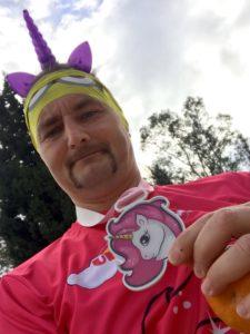 Unicorn Run Medaille